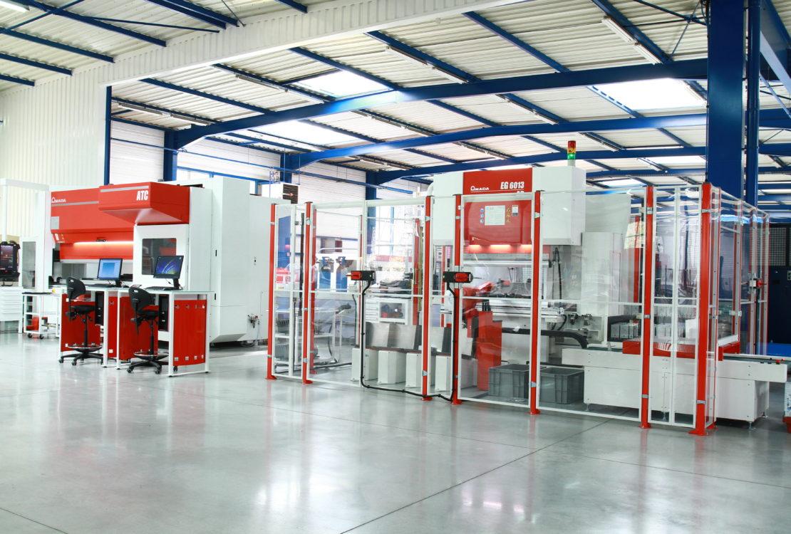 machine atelier tolerie ricupero